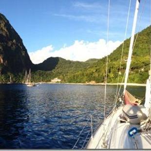 Nach Saint Lucia
