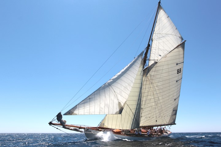 Voile de St. Tropez mit der Moonbeam of Fife