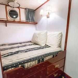 Doppelbett Kabine 2