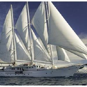 Arabella gesetzte Segel