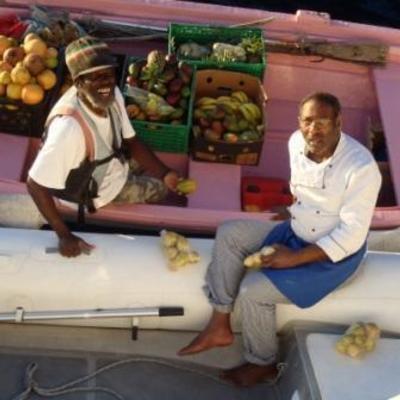 Einkauf karibisch