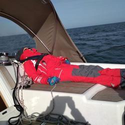 So entspannend kann segeln sein.
