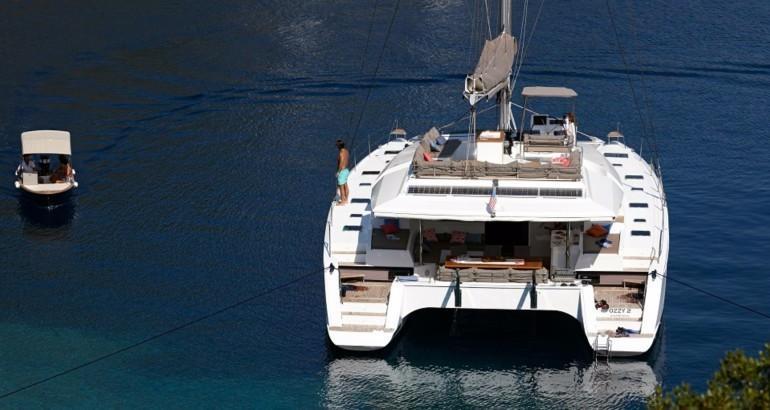 Katamaran segeln luxus  Premium Katamaran-Reise Grenadinen