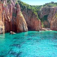 Sardinien Klippen