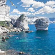 Korsika Weiße Klippen Bonifacio