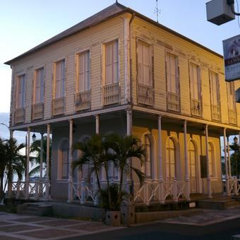 Alte Börse Saint Pierre Martinique