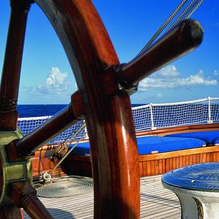 Sea Cloud Blaue Lagune