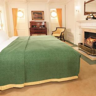 Bett in Kabine 5