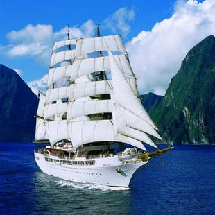 Sea Cloud vorne