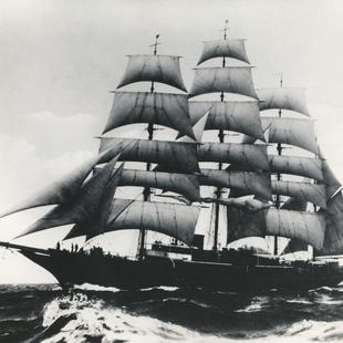 Sea Cloud Hussar volle Segel