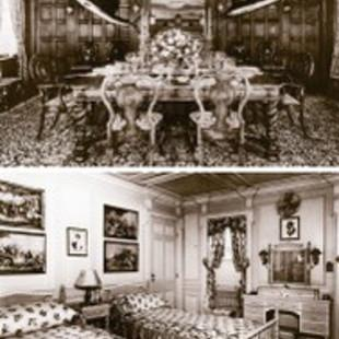 Sea Cloud Kabine Salon History