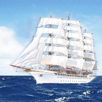 Sea Cloud Spirit in See