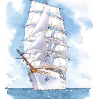 Sea cloud Spirit Frontal