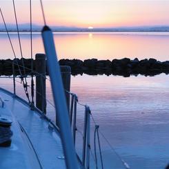 N Sonnenaufgang auf Hiddensee