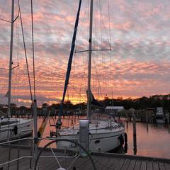 Sunset auf Hiddensee