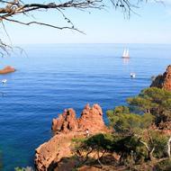 Sardinien vom roten Felsen