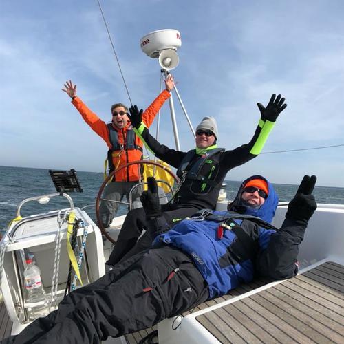 Siegerfoto Windland-Crew