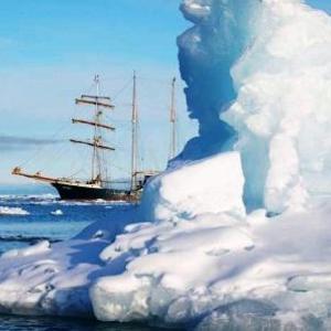 Antigua hinter dem Eisberg