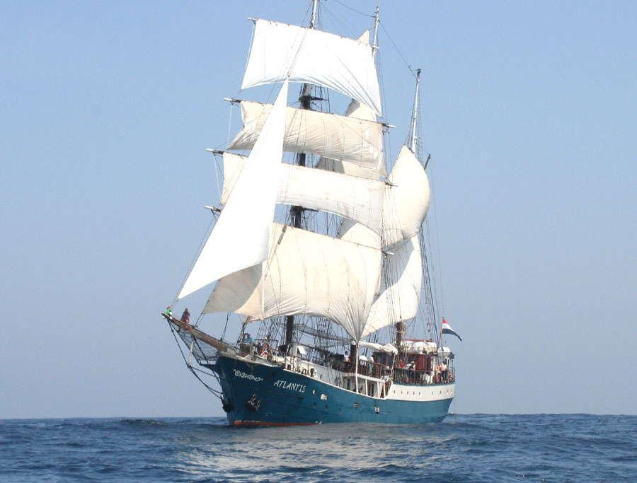 Segelschiff Atlantis