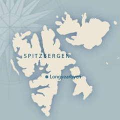 Map Antigua Spitzbergen