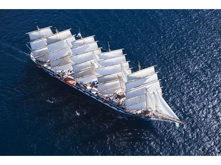 Royal Clipper Transatlantik West-Ost
