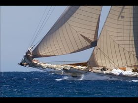 Antigua Classic Yacht Race on Chronos