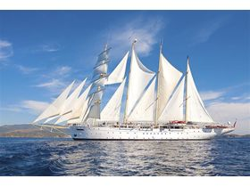 Star Clipper im Seglerparadies