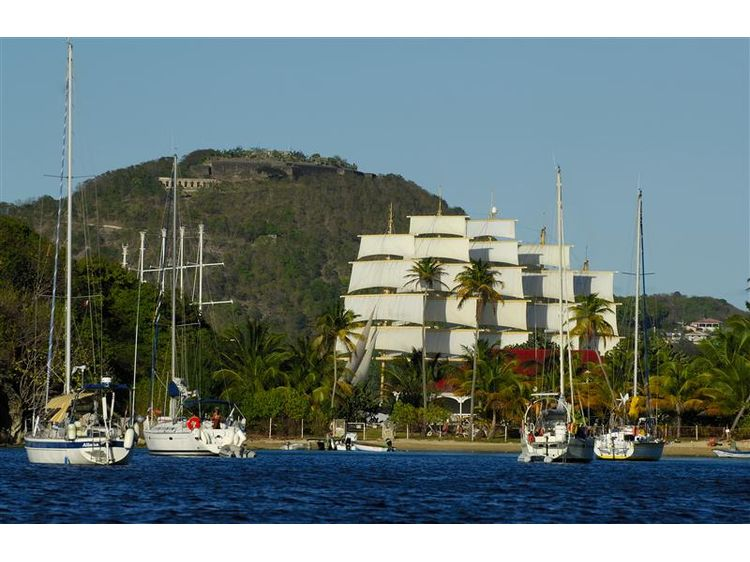 Winsward Islands - Sailing Cruise Carribean at Royal Clipper (7 Days)